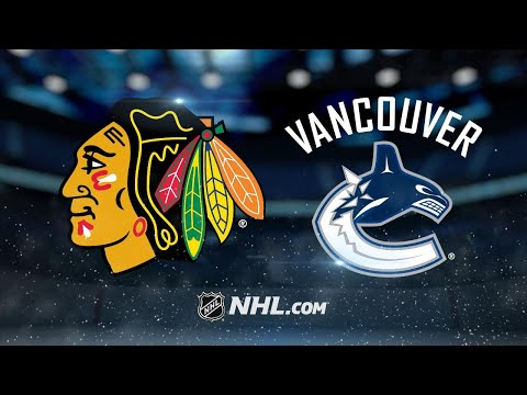 Vanek powers Canucks past Blackhawks, 5-2