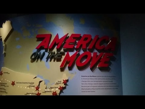America on the Move exhibit at the National Museum of American History (Washington, DC)