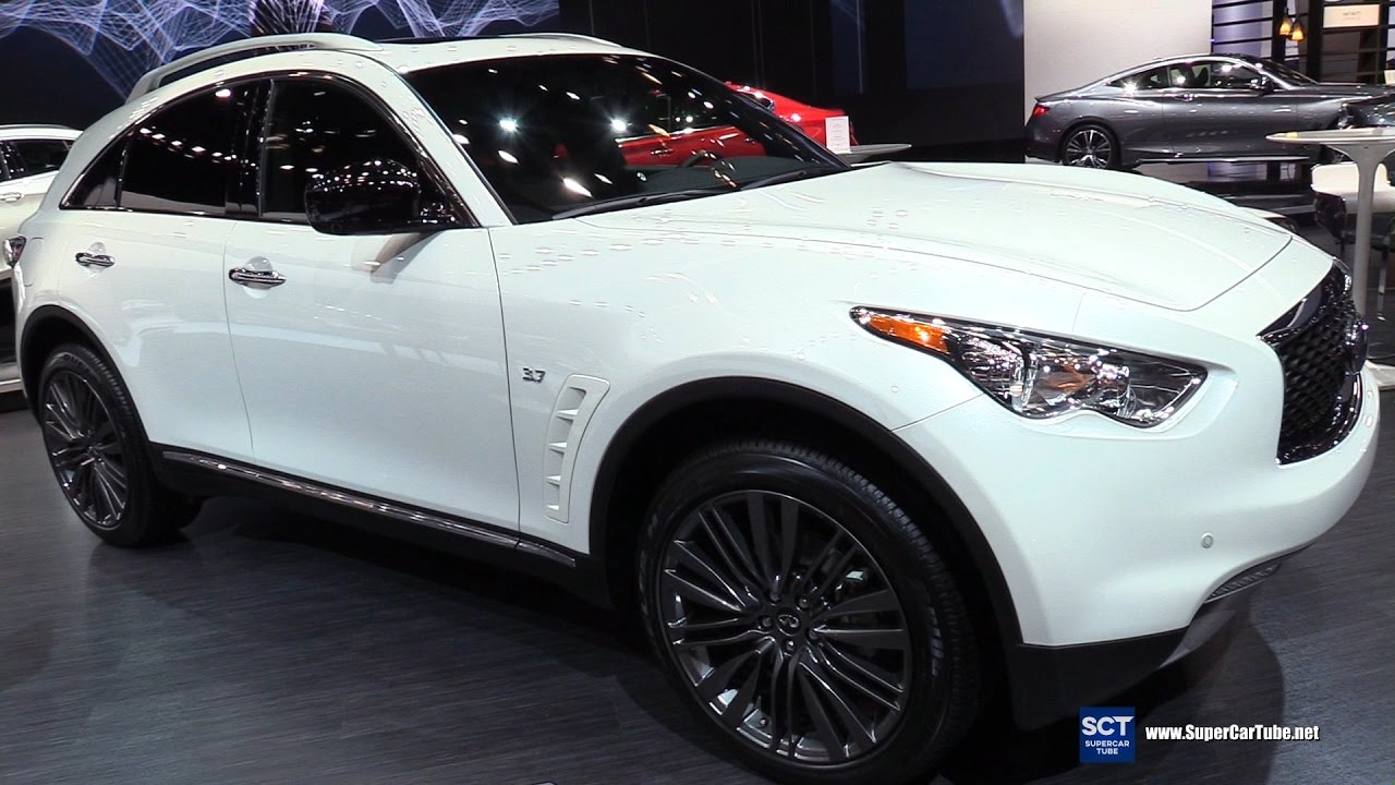 2017 Infiniti Qx70 Limited Exterior And Interior Walkaround New York Auto Show