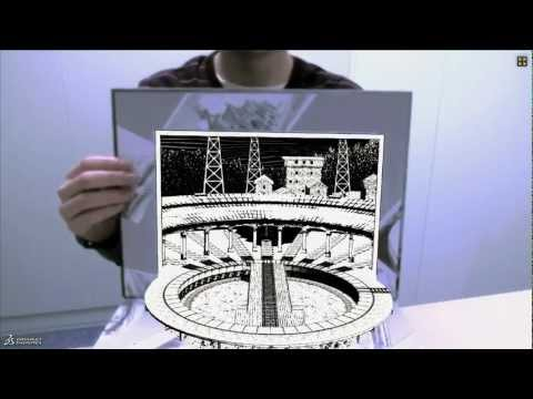 Comic Book Augmented Reality 3D Experience