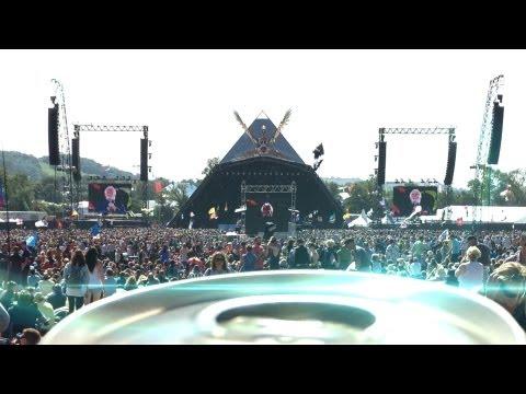 BEERS EYE VIEW - Glastonbury Festival 2013