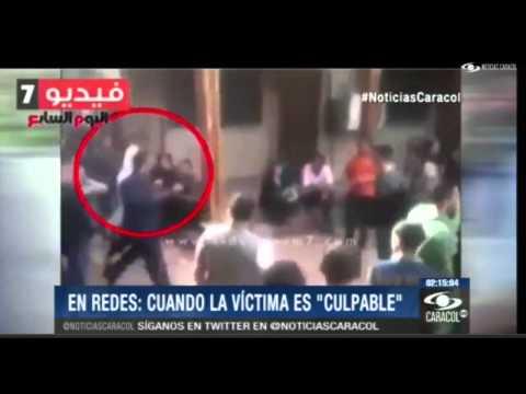 Agresión sexual contra joven rubia en Egipto thumbnail