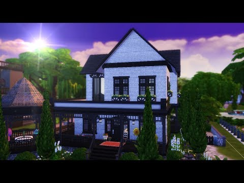 WITCH SISTER HOUSE || The Sims 4: Speed Build