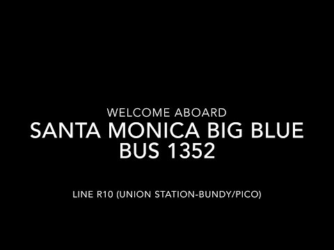 (NO HVAC) Santa Monica Big Blue Bus 2013 Gillig BRT 40' CNG #1352 | Coin Lloyd's Transit Hub