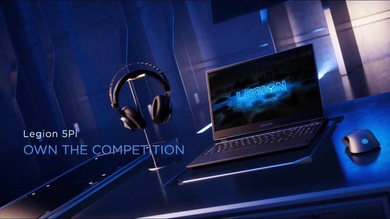 Lenovo Legion 5Pi - Own The Competition