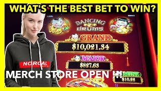 HOW TO WIN AT DANCING DRUMS 🎰| NorCal Slot Guy