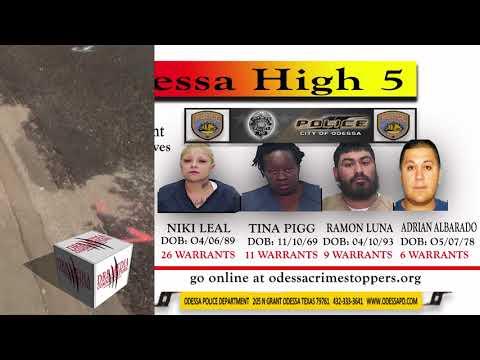 DRB MEDIA COMMUNICATIONS DIGITAL NEWS(011618) - ODESSA HIGH 5 AND HIT & RUN 500 BLK W. 25TH