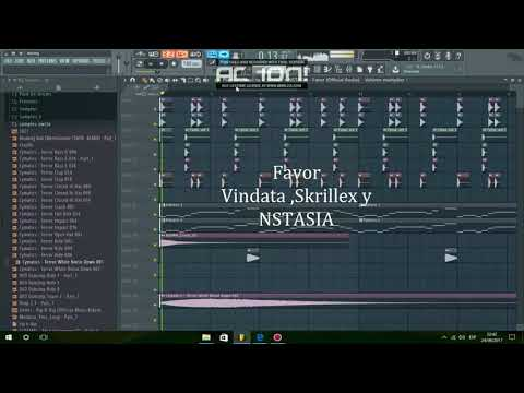 Favor - Vindata, Skrillex Y NSTASIA (Remake Atomy)