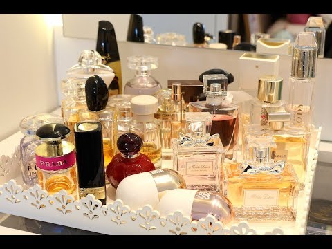 Minha coleção de perfumes | 2018