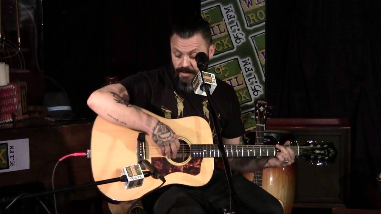 Justin Furstenfeld Of Blue October Hate Me Acoustic Youtube