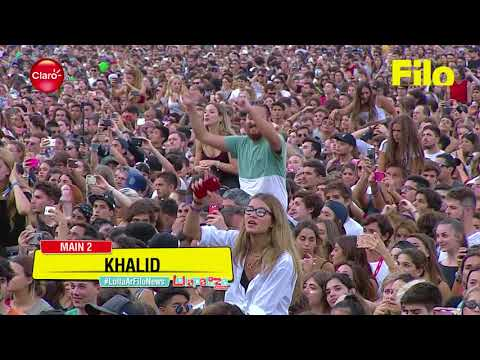 Khalid  Young Dumb & Broke  At Lollapalooza Argentina 2018