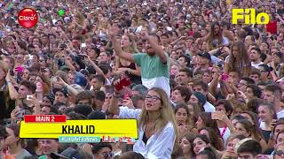 Download Mp3 Khalid - Young Dumb & Broke  Live At Lollapalooza Argentina 2018