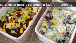 Black beans salad and pasta recipe @samee cooking recipes