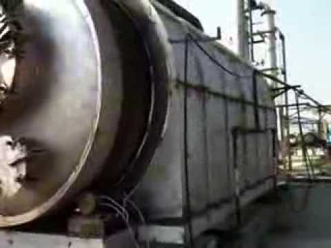 Rotary Kiln Pyrolysis Plants/ Thermolysis systems for waste tyre & plastic