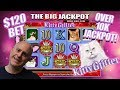 $120 SPINS 🙀OVER 10 THOUSAND JACKPOT 💸KITTY GLITTER BONUS ROUND!