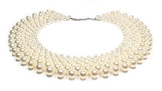 Jewelry ❤ DIY: beaded collar / Воротник из бисера своими руками