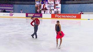 Ритм танец Танцы на льду Юниоры Сочи Кубок России по фигурному катанию 2020 21 Третий этап
