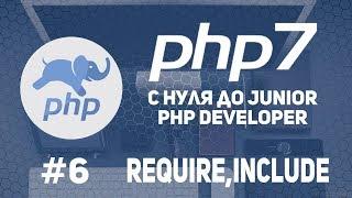 Уроки PHP 7   Подключение файлов  Шаблон страницы  Require Include
