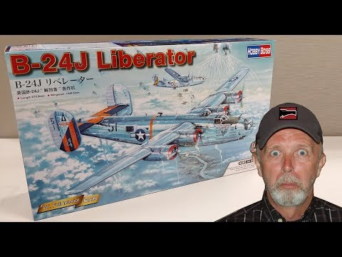 FIRST LOOK - 1:32 Scale B-24J Liberator...
