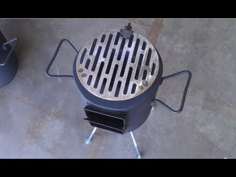 Rocket Stove -- version 2