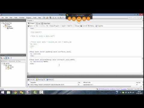 Base SAS Programming - Lecture 4