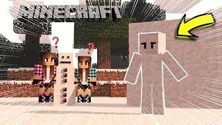 ESCONDE-ESCONDE DISFARCE DE NEVE !! (Especial de Natal) - Minecraft - Só Por Causa