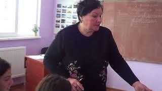 урок русского языка в 8 классе (часть 1)