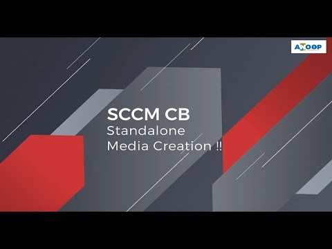 How to Create SCCM CB Full Standalone Media with Applications