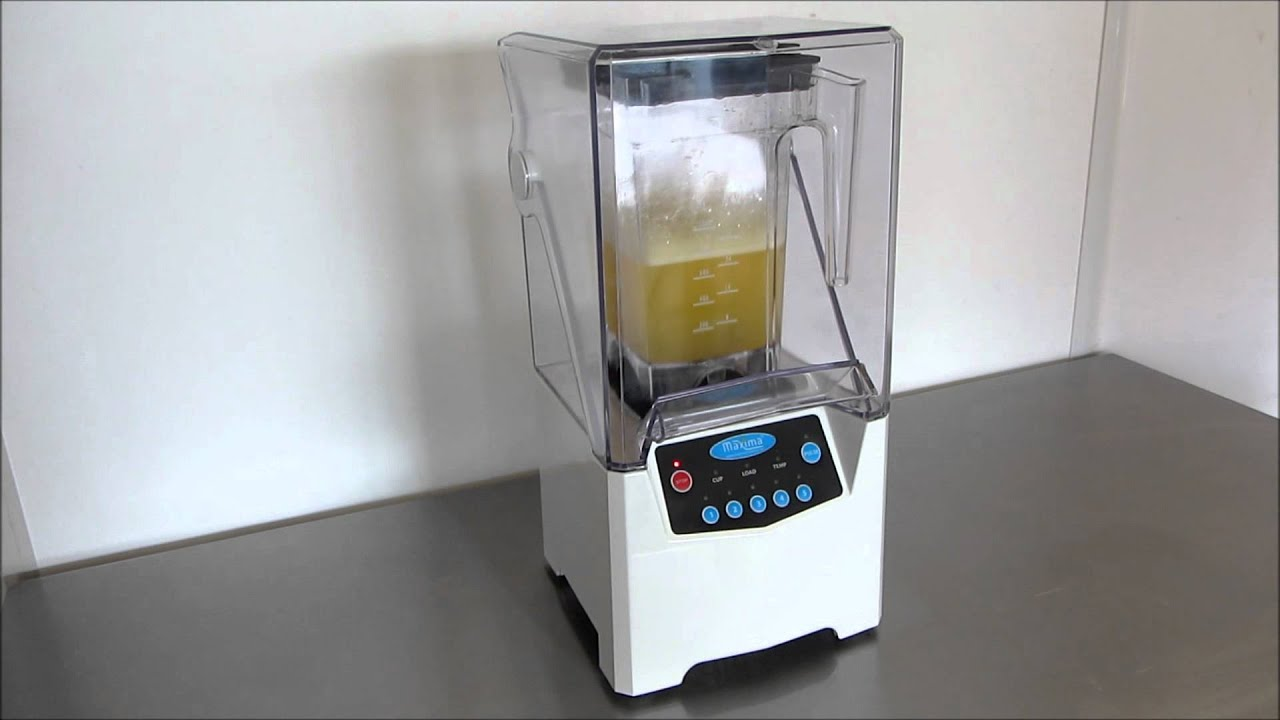 2012 - MAXIMA KITCHEN MASTER ULTIMATE BLENDER - YouTube