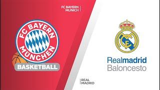 FC Bayern Munich - Real Madrid Highlights | Turkish Airlines EuroLeague, RS Round 20