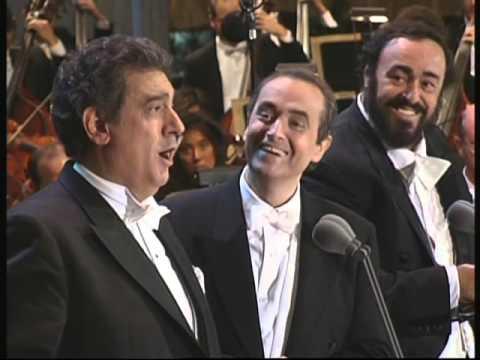 Luciano Pavarotti, Placido Domingo, Jose Carreras   Libiamo ne' lieti calici Brindisi La Traviata
