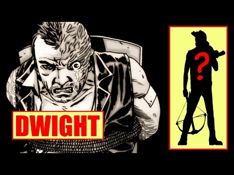 Dwight before Negan face burn on The Walking Dead Season 6