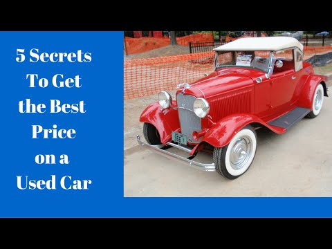 secrets to best car price revealed from youtube