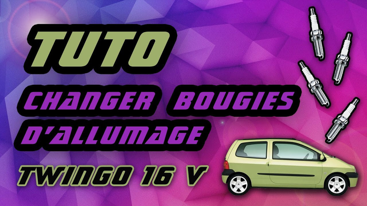 tuto comment changer les bougies d 39 allumage renault twingo 1 2 16 v how to change spark plugs. Black Bedroom Furniture Sets. Home Design Ideas