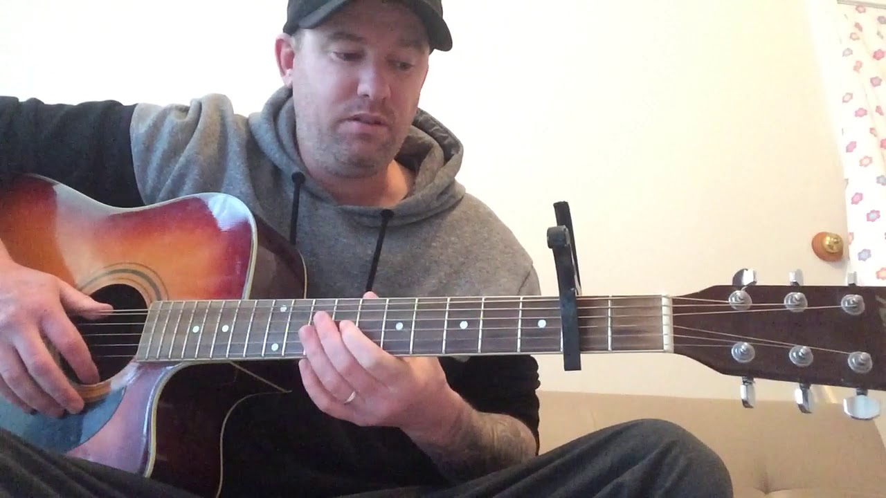 a-ha take on me the acoustic deadpool version easy lesson - YouTube