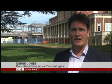 BBC Look East West story on Cambridge Biotech industry 150416