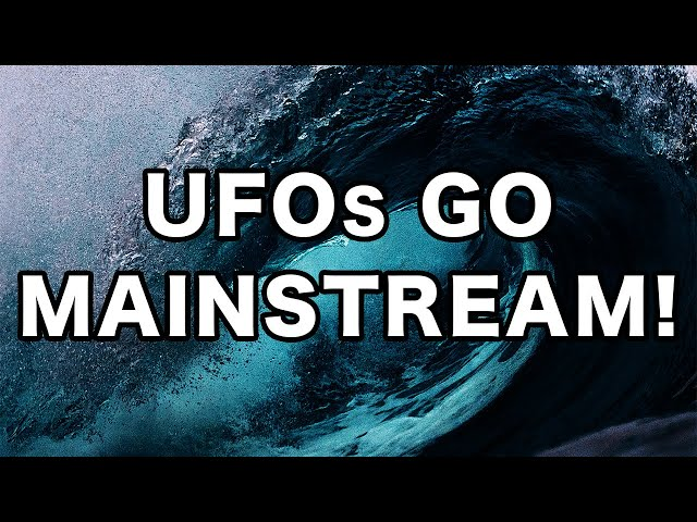 The UFO Tidal Wave Can't Be Stopped