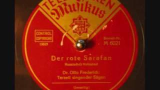 Der rote Sarafan - Russisches Volkslied