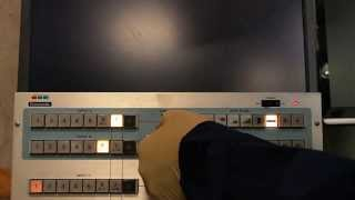 panasonic wj 5500a special effects mixer demo