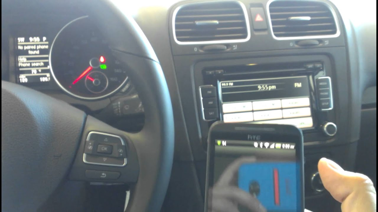How to program Bluetooth system on a VW - YouTube