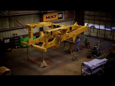 HOLT CAT 777D Rebuild Time-lapse