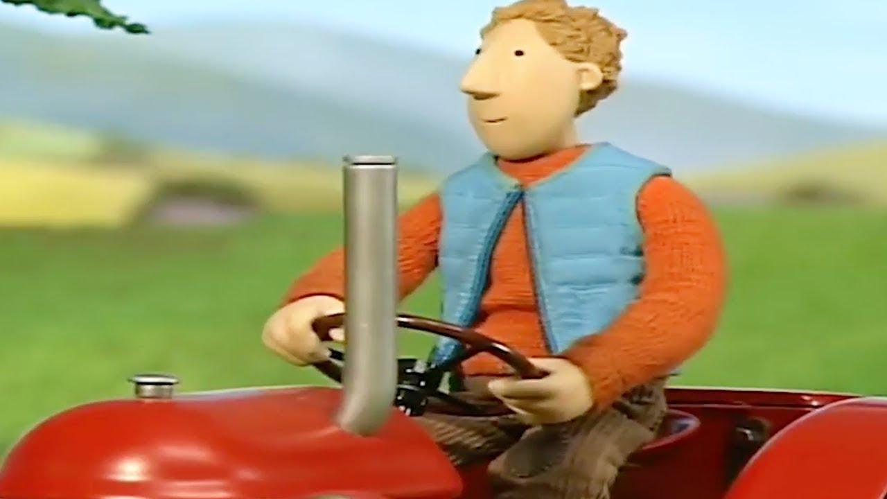 kleiner roter traktor  das drama mit dem lama  cartoon