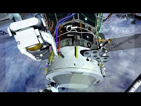Animation of Aug. 19 Space Station Spacewalk #NASA