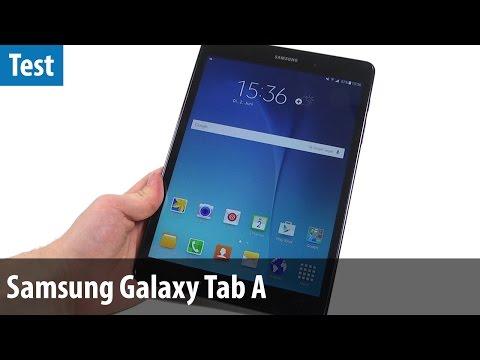 Schnäppchen-Tablet? Samsung Galaxy Tab A im Test-Video   deutsch / german