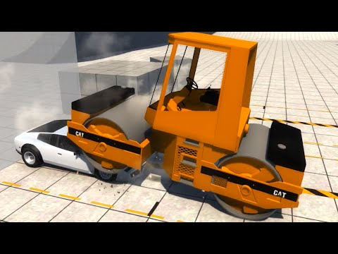 BeamNG.drive - BKL Steam Roller