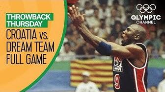 Croatia vs. USA ft Michael Jordan & The Dream Team - Basketball Replays | Throwback Thursday