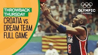 Croatia vs. USA ft Michael Jordan & The Dream Team - Basketball Replays | Throwback Thursday