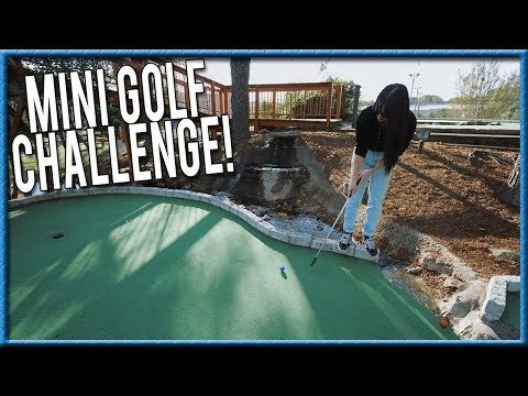 THE ULTIMATE MINI GOLF CHALLENGE! - BACKWARDS EDITION!