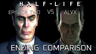 half-Life 2: Episode Two vs Half-Life: Alyx  (Ending Comparison)