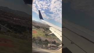 Landing in a 737 at Las Vegas McCarran International Airport 03/26/2018